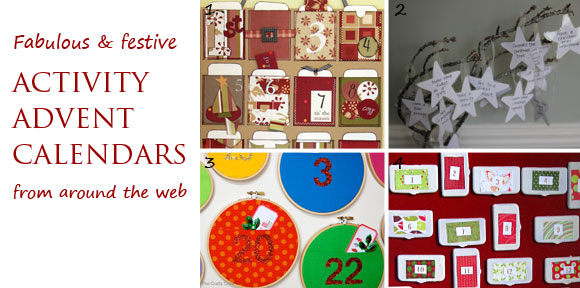 Activity advent calendars