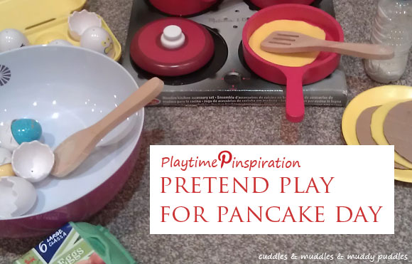 Playtime Pinspiration - Pretend play for Pancake Day