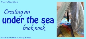 Creating an under the sea book nook