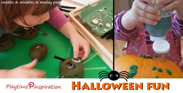 Playtime Pinspiration - Halloween fun