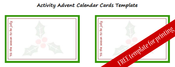 our super simple activity advent calendar with free template cuddles muddles muddy. Black Bedroom Furniture Sets. Home Design Ideas