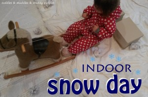 Indoor snow day