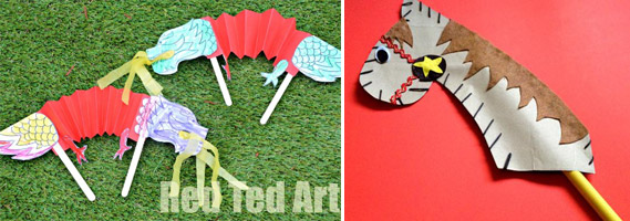 Chinese New Year toddler crafts