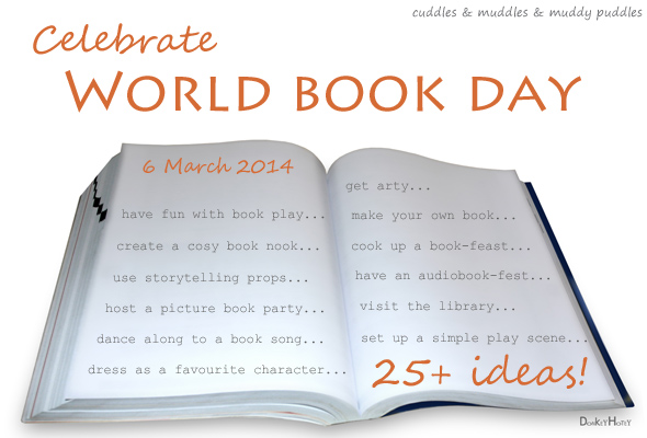 Ideas for celebrating World Book Day