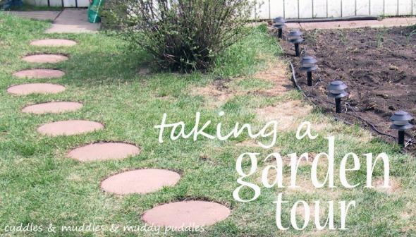 Taking a garden tour