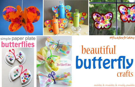 Beautiful butterfly crafts