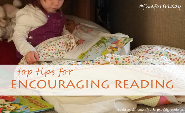 Tips for encouraging reading