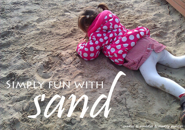 Simply fun with sand