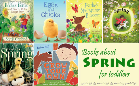Books about spring for toddlers