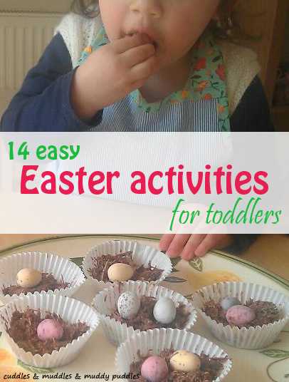 Easy Easter activities for toddlers