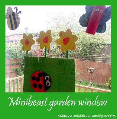 Minibeast garden window