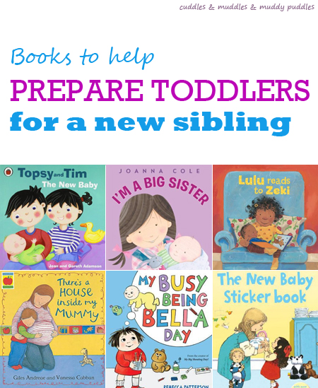 Books to help prepare toddlers for a new baby