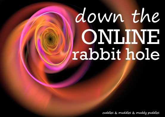Down the online rabbit hole