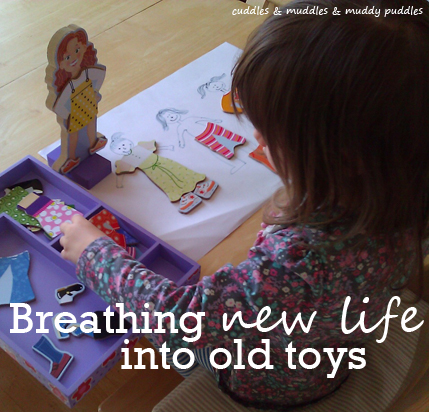 Breathing new life into old toys