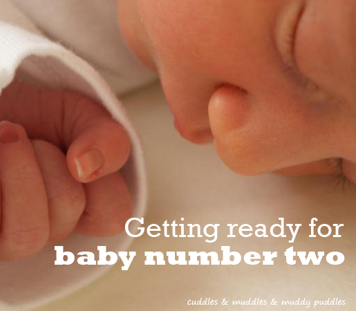 Getting ready for baby number two