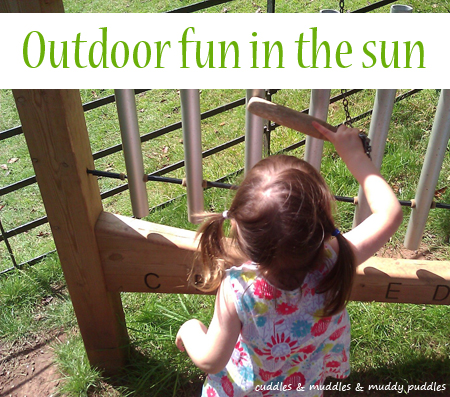 Outdoor fun in the sun
