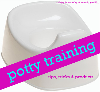 Potty training tips, tricks & products