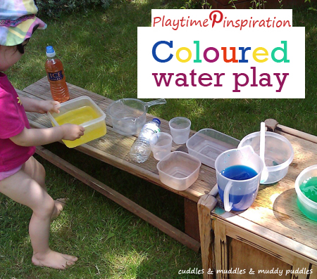 Playtime Pinspiration - Coloured Water Play