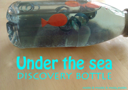 Under the sea discovery bottle