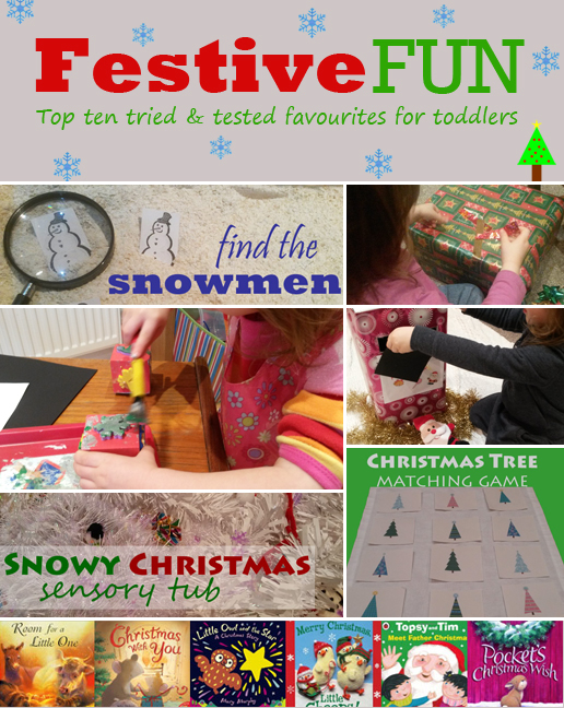 Festive fun for toddlers