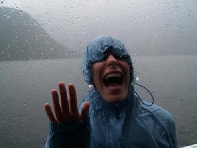 Milford Sound rain
