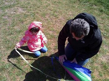 Kite preparation